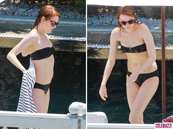 Emma Stone Bikini