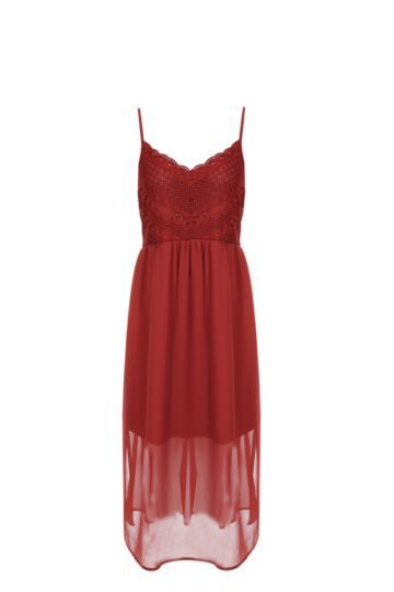 Crochet Fit Flared Dress from Mr Price R219,99
