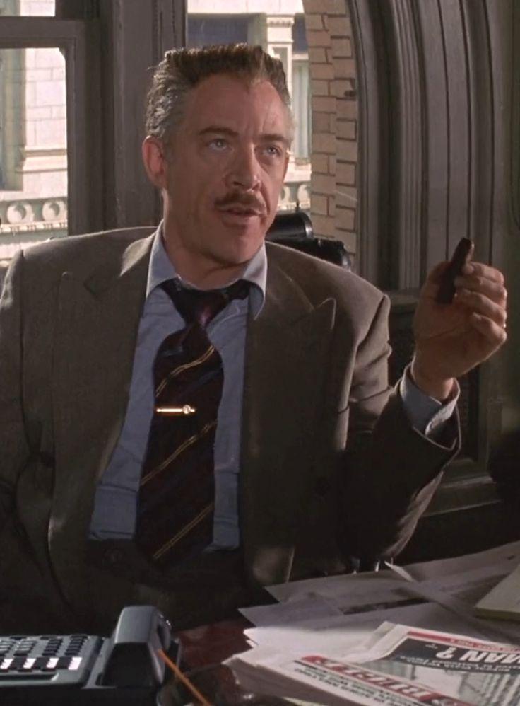 Marvel in film n°8 - 2002 - J. K. Simmons as J. Jonah ...