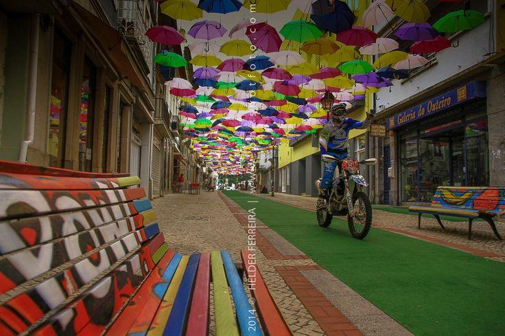 Enduro de Águeda 2016   @Agitagueda  #agitagueda #agitagueda2016 #agitaguedaartfestival #agueda #streetart #festival #urbanart #umbrellaskyproject