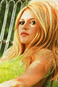 60's Hair and Makeup -- Brigitte Bardot  this is the hair i want. with bangs?