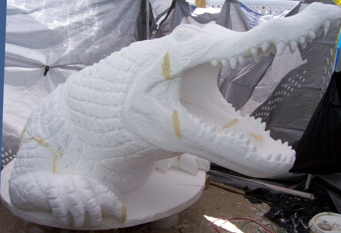 foam carving | Theme Park Props and Statues Custom Artworks