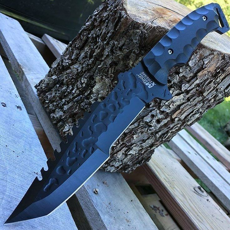 Midnight Tactical Knife �� Visit our store today!!! Link in bio! - - - #knifes #handgun #glock #paintball #weapons #knife #hunter #hunt #hunting #gaming http://misstagram.com/ipost/1573512180123567584/?code=BXWPP2yBAXg