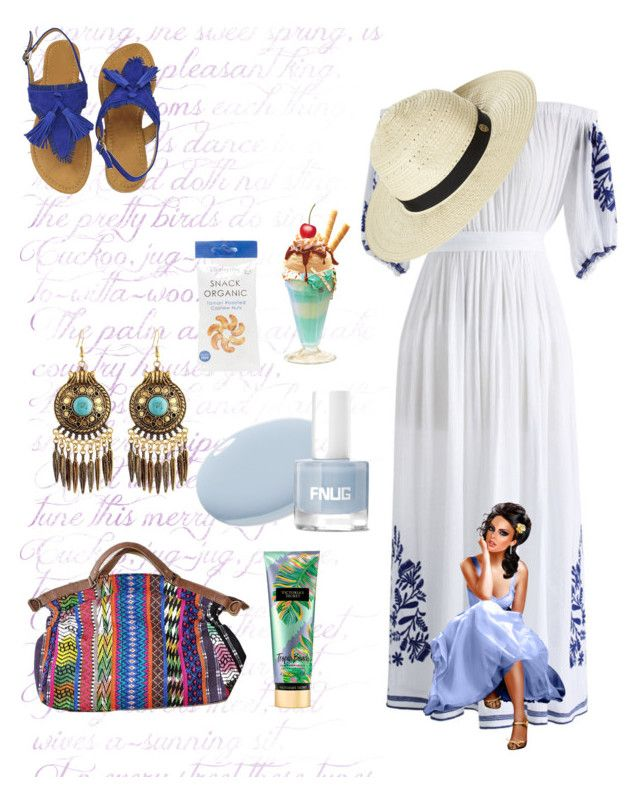 """""""Untitled #5381"""" by princhelle-mack ❤ liked on Polyvore featuring Chicwish, Victoria's Secret and Rip Curl"""