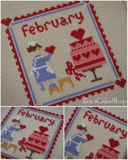 Подружки-рукодельницы: Zoe's Cake Shop - February - Love Cake