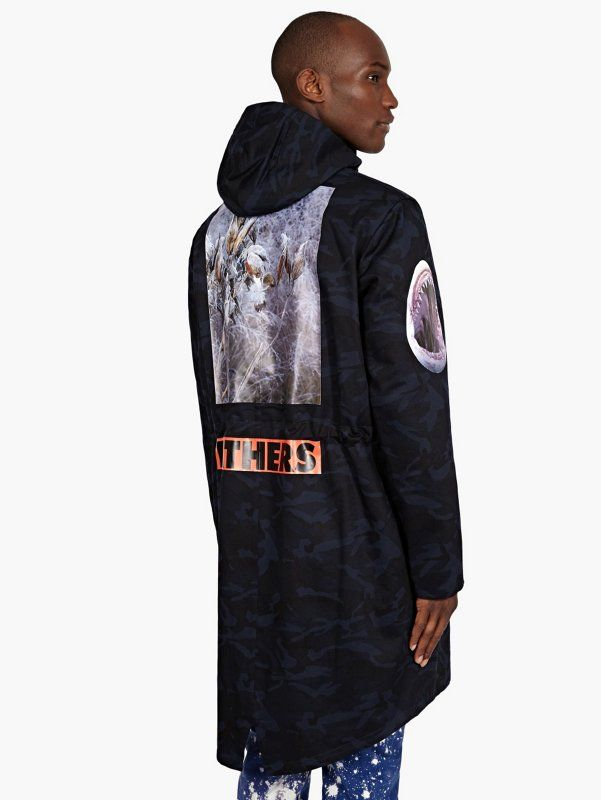 Raf Simons / Sterling Ruby Men's Camouflage Collage Print ...