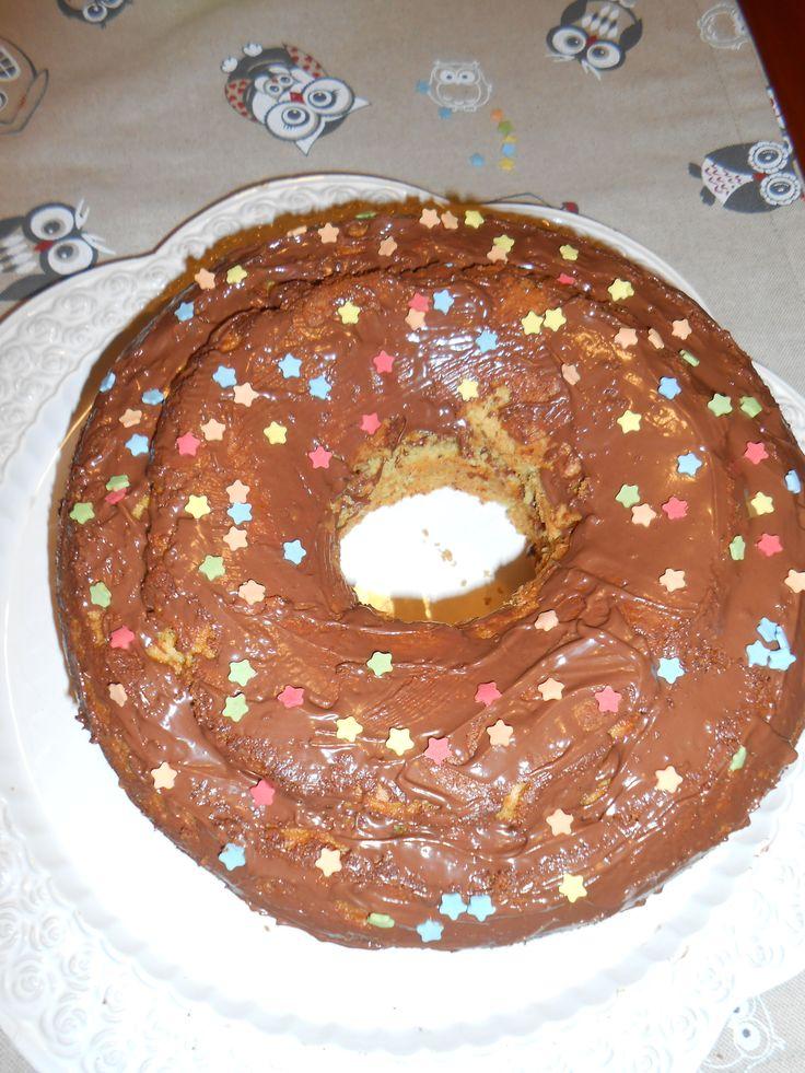 CHIFFON CAKE AL PISTACCHIO_ FARCITURA  NUTELLA