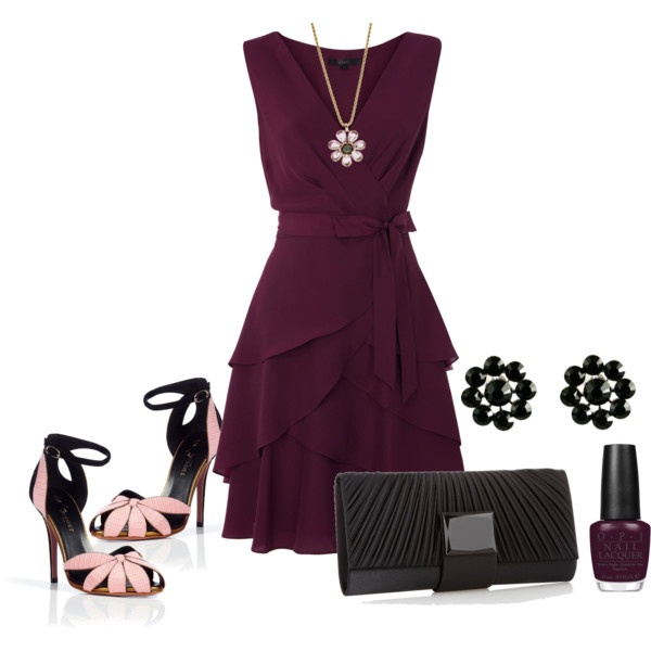Love the colors and this dress. I don't have anywhere to wear it, though! I think it's a little too dressy for church.