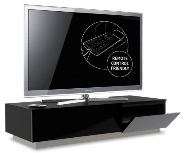 Best 25+ Black tv cabinet ideas on Pinterest | Media wall unit ...