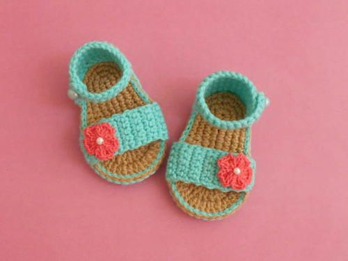 Easy Baby Gladiator Crochet Sandals Free Guide