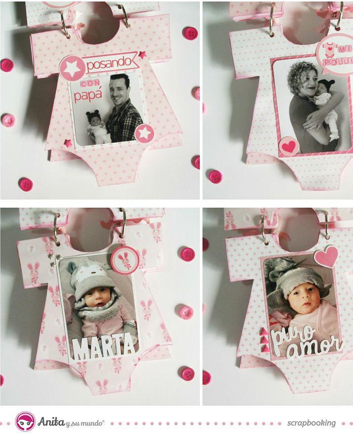 Best 25 scrapbook bebe ideas on pinterest lbuns de - Como decorar un album de fotos ...
