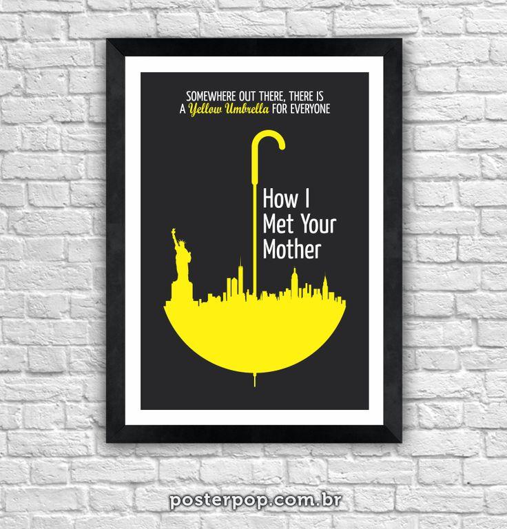 Poster How I Met Your Mother - Yellow Umbrella
