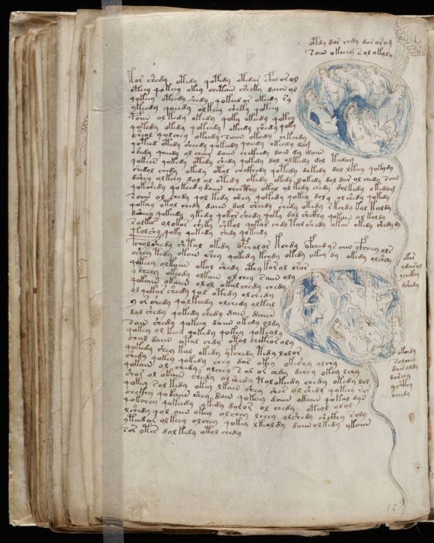 Voynich Manuscript: An early case of Outsider Art with asemic writing?