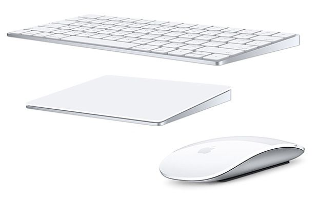 "Apple's New Magic Keyboard, Mouse, and Force Touch Trackpad - Sure to knock Apple's groundbreaking ""Pencil"" out of the headlines for at least a day or two is news that the latest versions of Mac wireless accessories are finally rechargeable. No more AA batteries.  Your new Magic Keyboard, Magic Mouse, & Magic Trackpad can now be re-charged via Lightning cable. 