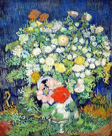 Vincent van Gogh, Bouquet of Flowers in a Vase
