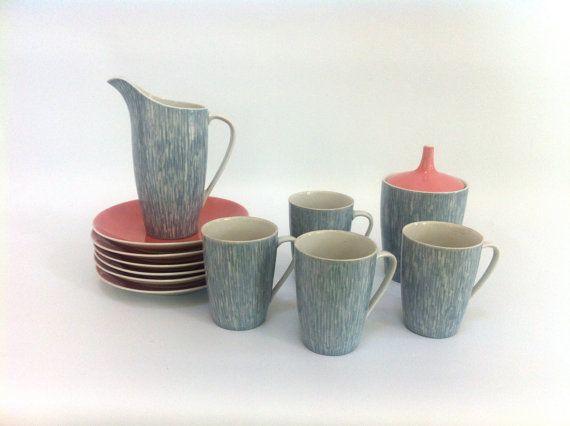 Goplana Cofee Set, designer: W.Potacki, ćmielów