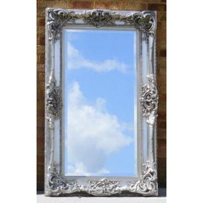 5ft Silver Gilt Framed Monaco Mirror 5ft X 3ft From Www