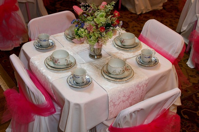 63 best images about tea party ideas on pinterest for Edwardian table setting