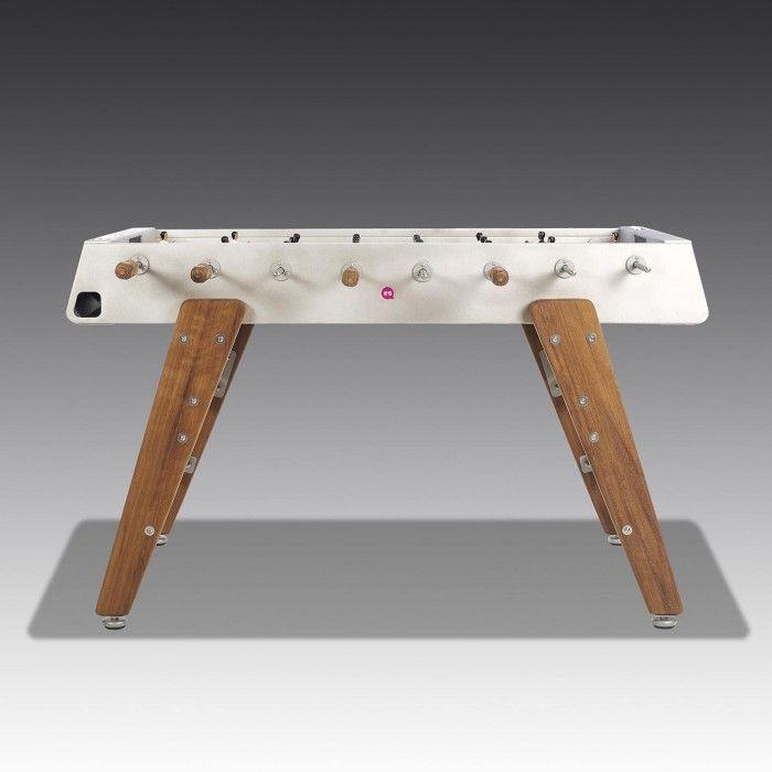 RS3 Wooden Leg Table Football