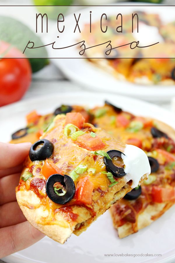 Step by Step how to make Mexican Pizza Recipe