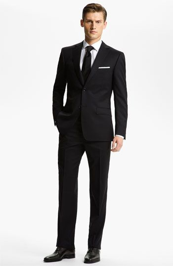 drop 7 trim fit wool suit  wool suit and nordstrom