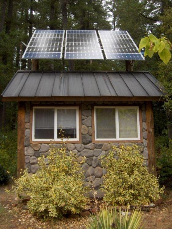 Tiny Home Designs: Solar PV Systems:Off Grid