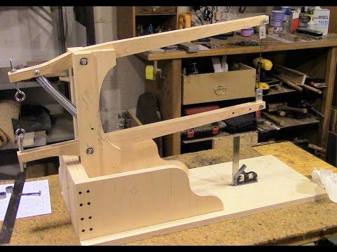 Assemble A Drill Powered Scroll Saw Part 2 Saw Arm