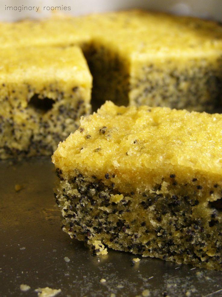 Citromos-mákos süti / Lemon-poppyseed cake