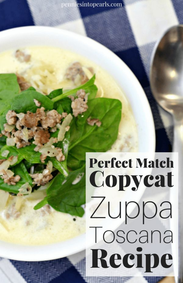 A quick meal that also is a cheap meal but still tastes just like the restaurant but for a quarter of the price! This Zuppa Toscana recipe will surprise you how spot on it tastes just like the real thing at Olive Garden.
