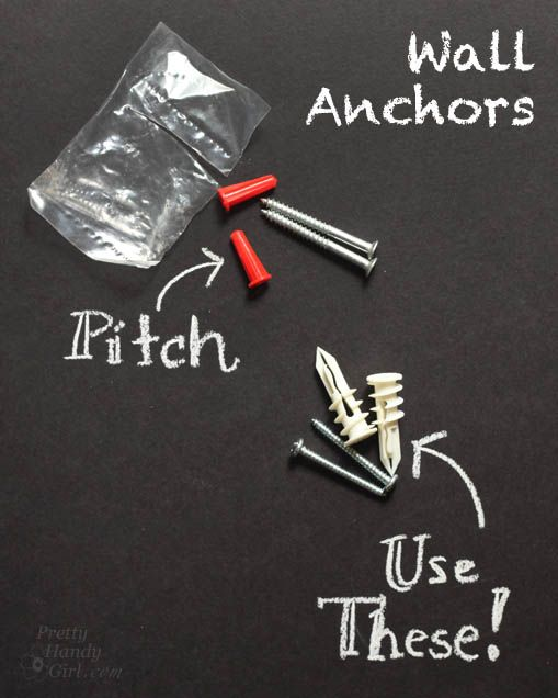 Use GOOD Wall Anchors | 31 Days of Handy Home Fixes