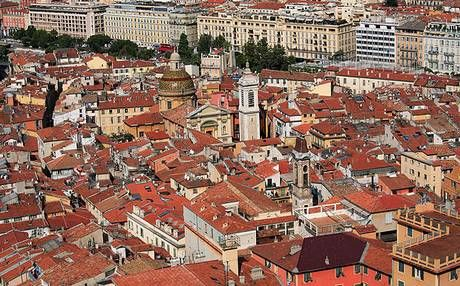 Nice's Old Town is 'a warren of wriggling streets no thicker than a fisherman's forearm'