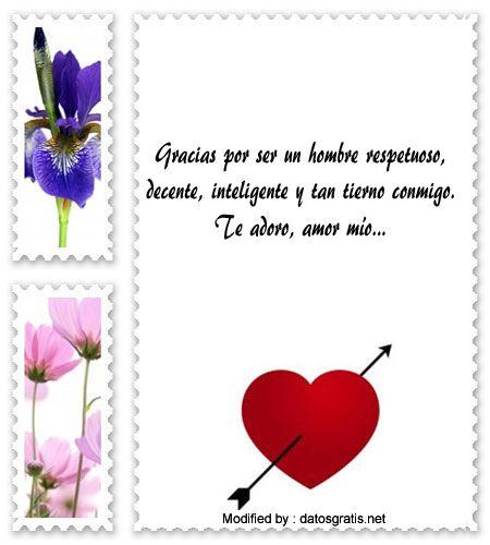 frases y mensajes románticos para whatsapp,enviar originales mensajes de amor para whatsapp : http://www.datosgratis.net/preciosos-mensajes-de-amor-para-mi-pareja/