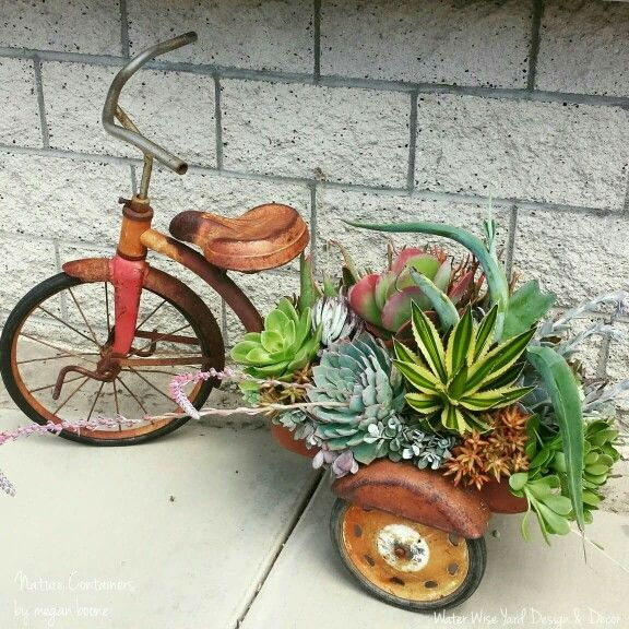 "For one of my vintage ""planters"""