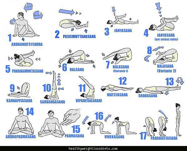 awesome Hatha yoga poses and names