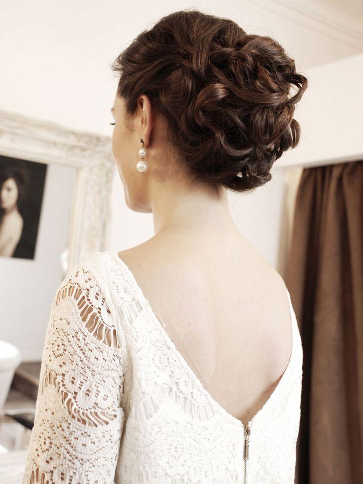 Marie, tmoin ou invite : 3 coiffures de mariage  tester