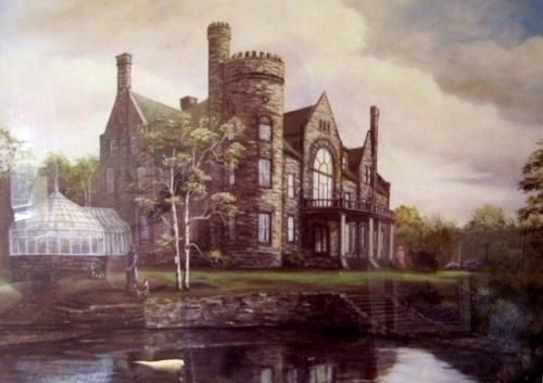 Old Moxham Castle, Sydney NS . this gorgeous castle was just down rhe street from my childhood home. I cried the day it was destroyed by fire.