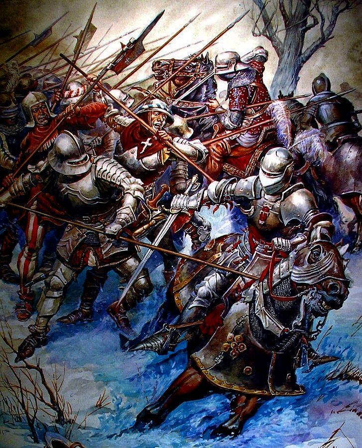 A batalha de Nancy foi a batalha final e decisiva da Guerra da Borgonha lutei fora dos muros de Nancy em 05 de janeiro de 1477 Entre Carlos, o Temerário, duque de Borgonha, e René II, duque de Lorraine. As forças de René ganhou a batalha, e o corpo mutilado Charles 'foi encontrado três dias depois