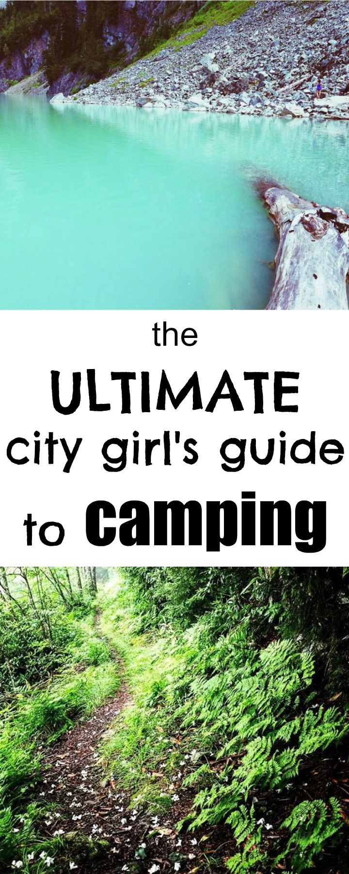 This city girl's gone camping and she's learned tips and tricks to make your next camping trip feel like you're back in the big city! #camping #citygirl