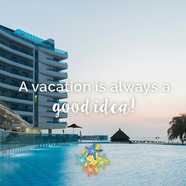 A vacation is always a good idea!   www.hotellasamericas.com.co  #MondayMotivation #mondayblues #ElHoteldeLasEstrellas #ThePreferredLife #Caribbean #instapic #Inspiration
