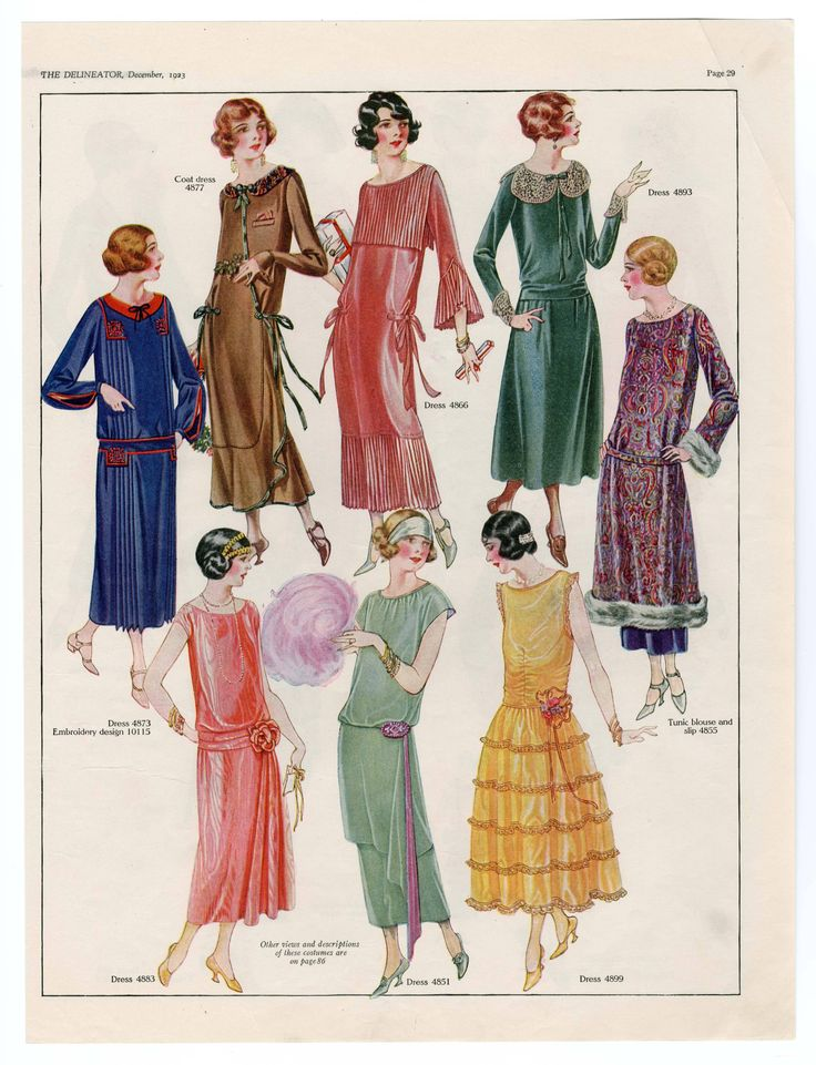 1921-1940, Plate 036. Metropolitan Museum of Art (New York, N.Y.). Costume Institute. Fashion plates, 1700-1955 Costume Institute Fashion Plates. #1920sFashion