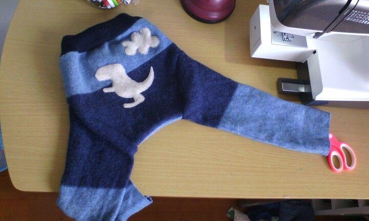 Wool longies  ,diaper cover