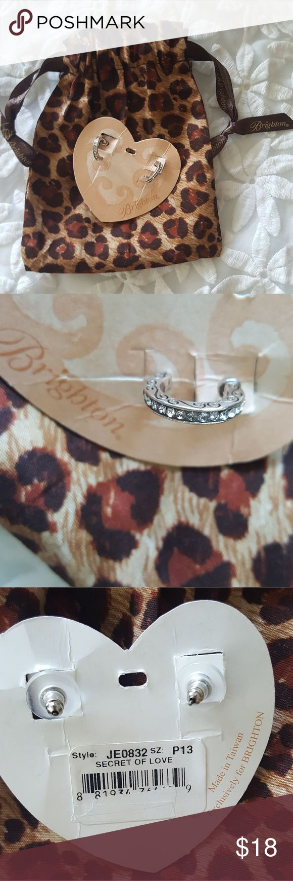 New ~ Brighton Mini Hoop Earrings These Are Very Pretty And Charming  Earrings By Brighton