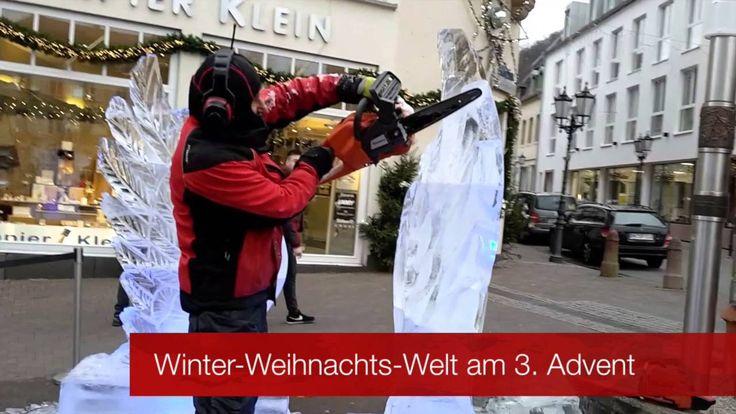 Eisskulpturen entstehen #live #auf #dem #Homburger #Marktplatz  #Saarland Winter-Weihnachts-Welt #Homburg / #Saarland - #Bericht #und #Termine #unter #der Webadresse:  #Homburg #Saarland http://saar.city/?p=35914