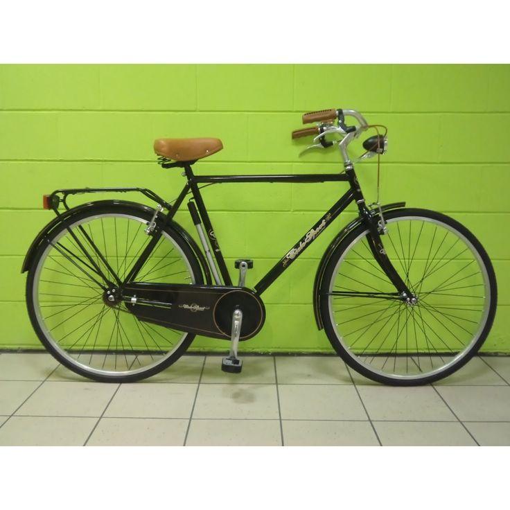 Bicicletta uomo Olanda 28 CicloSport Lusso - Nera