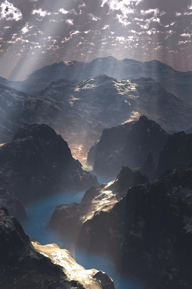 Pin by GALARNEAU ... on Rayon de lumière / Ray of light | Pinterest | Nature, Mountains and Beautiful world