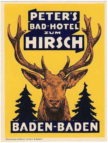 GERMANY - Germania - Baden Baden - Bad Hotel zum Hirsch | Flickr