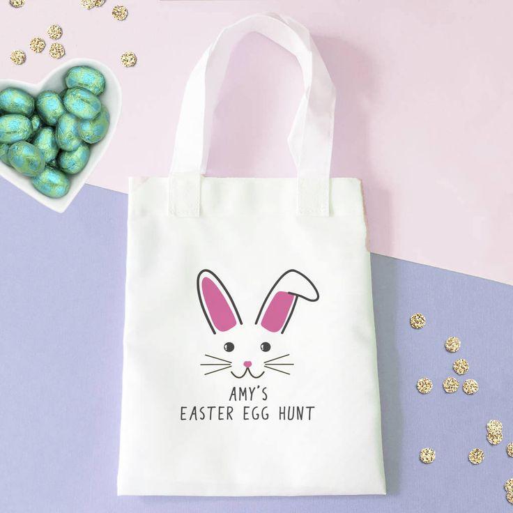 Easter Egg Hunt Bag by SarahHurley on Etsy https://www.etsy.com/uk/listing/524205163/easter-egg-hunt-bag