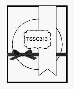 Techno Stamper: Monday Lunchtime Sketch Challenge 313 (TSSC313)