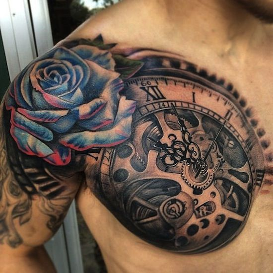 chest tattoos men best art design #12 - Inspiring Mode