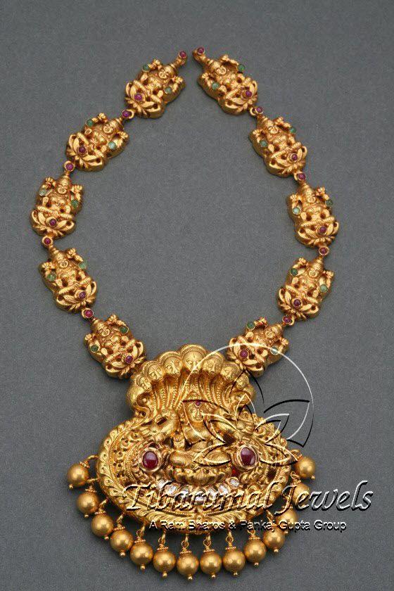 Nakshi Necklace | Tibarumal Jewels | Jewellers of Gems, Pearls, Diamonds, and Precious Stones
